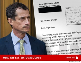 Anthony Weiner is a 'Danger to Our Society' … Disgusted NYer Writes to Judge