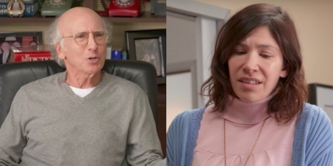 """Carrie Brownstein and Larry David Fight About Constipation in New """"Curb Your Enthusiasm"""" Trailer: Watch"""