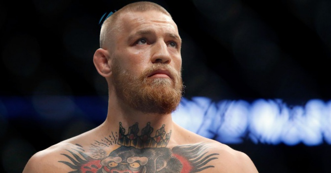 Conor McGregor sued by man claiming injury from energy drink can at UFC 202 press conference