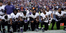 ESPN's 'Monday Night Football' will break with tradition and air the national anthem tonight