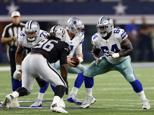 Cowboys lineman Cooper parlays health into starting job
