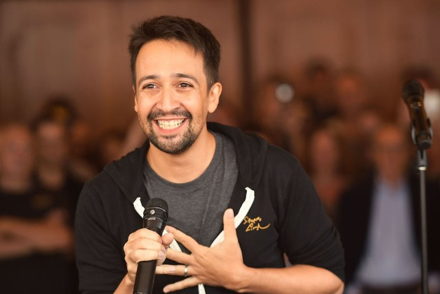 "Lin-Manuel Miranda Releases Puerto Rico Benefit Song ""Almost Like Praying,"" Featuring Jennifer Lopez, Gloria Estefan, Luis Fonsi, More"