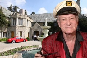 Playboy Mansion staffers left out of Hugh Hefner's funeral