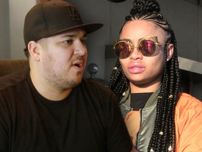 Rob Kardashian Paying Chyna $20k a Month … But There's a Catch