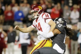 Sam Darnold struggles as USC upset by No. 16 Washington State, 30-27