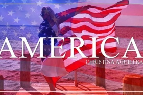 "Christina Aguilera's ""America"" Is Sprawling And Patriotic"