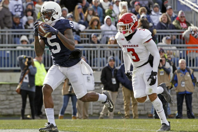 McSorley, defense lead Penn State to 35-6 win over Rutgers