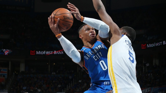 Russell Westbrook: Playing with intensity, energy 'my game'