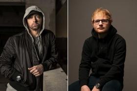 "Eminem & Ed Sheeran's ""River"" Charts A Harrowing Relationship's Destruction"