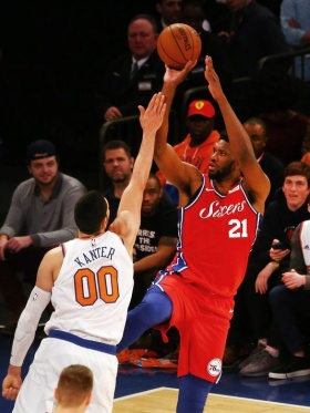 Joel Embiid, J.J. Redick end streak, power 76ers past Knicks