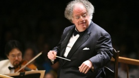 Metropolitan Opera suspends famed conductor James Levine over sex abuse allegations