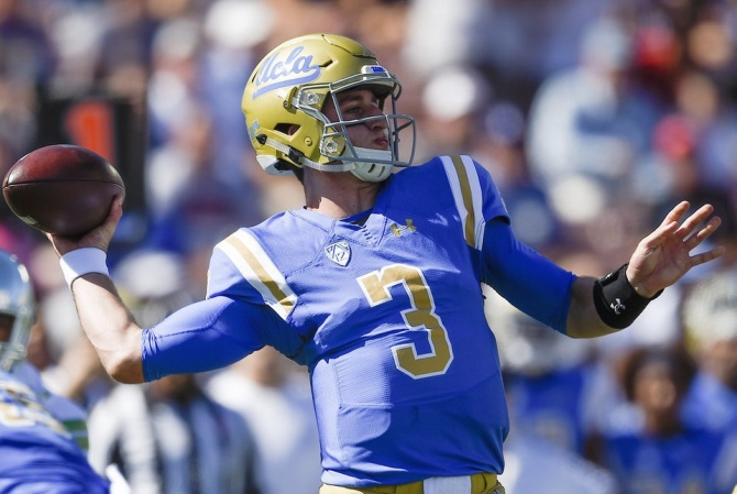 UCLA QB Josh Rosen wants to play for Giants, not Browns, ESPN's Adam Schefter says