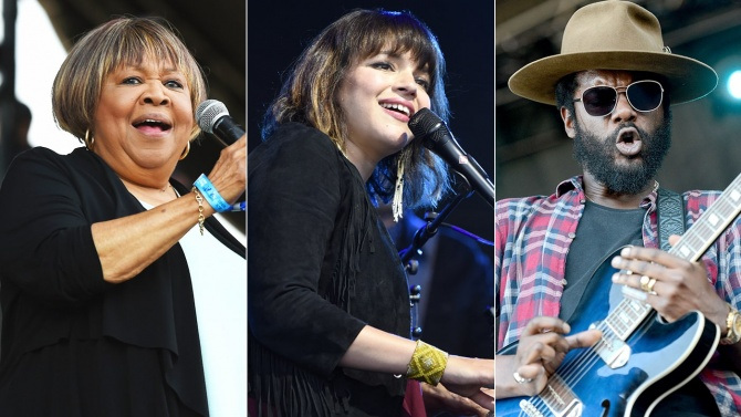 Mavis Staples, Norah Jones, Gary Clark, Jr. Lead Love Rocks NYC Benefit