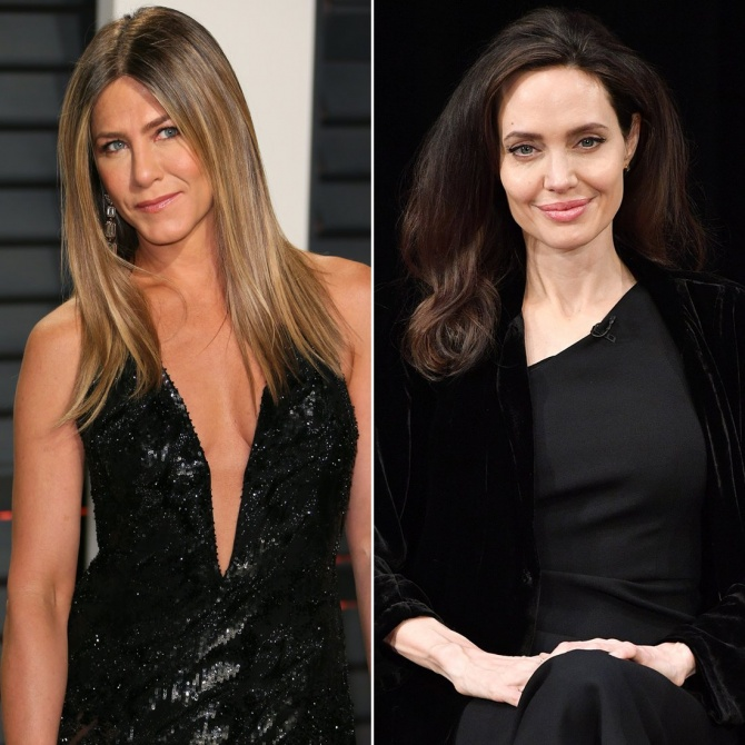 Permission to Freak Out? Jennifer Aniston and Angelina Jolie Will Both Be at the Golden Globes