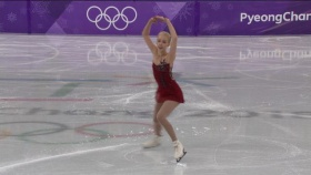 A fall in the Olympics is not enough to keep Bradie Tennell down