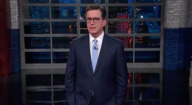 Here's What Stephen Colbert Said About The Florida School Shooting