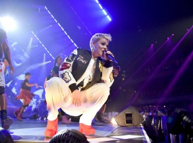 Pink Battling the Flu Before Super Bowl 2018 Performance