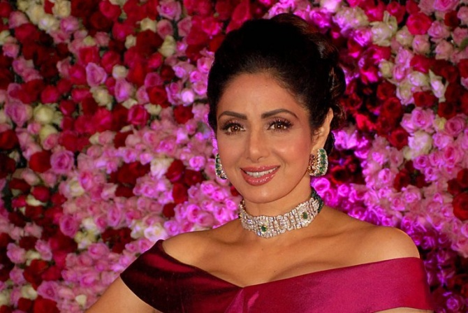 Sridevi Kapoor, Bollywood's First Female Superstar, Dies at 54
