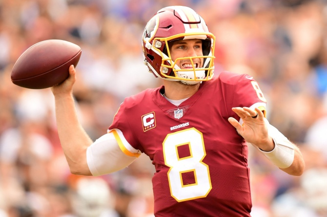 Jets among four NFL finalists for Kirk Cousins