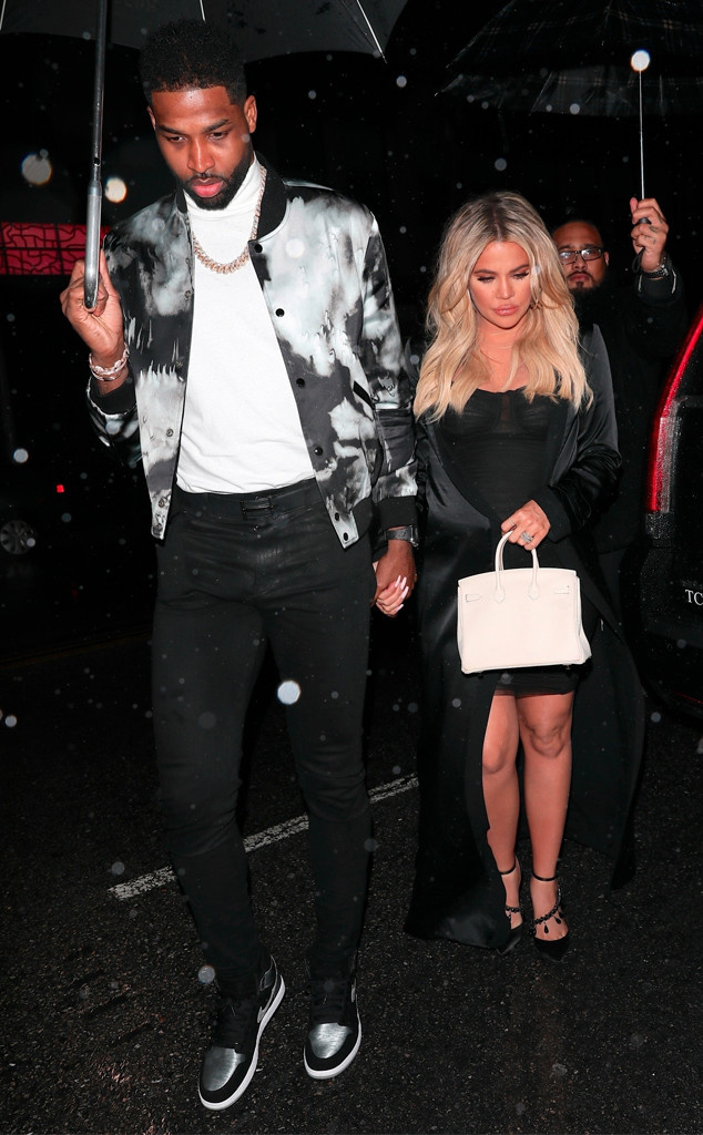 Khloe Kardashian and Tristan Thompson Celebrate His Birthday After Baby Shower