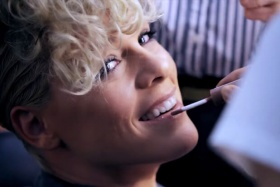 "Pink Takes Viewers Behind The Scenes In Her ""Whatever You Want"" Video"